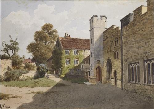 Taunton Castle by Harry Frier-web