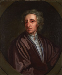 The portrait of John Locke
