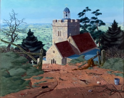'The Vale from Cucklington' by Tristram Hillier