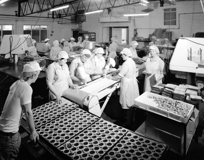 Maynard's Bakeries, Wiveliscombe, 1978