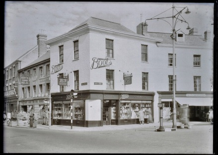 Wellington branch of Boots Chemist, 1947