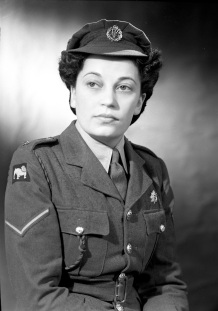 Lance Corporal Allen, Auxiliary Territorial Service, 1944