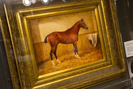 Painting by war artist F.W. Reed that inspired War Horse